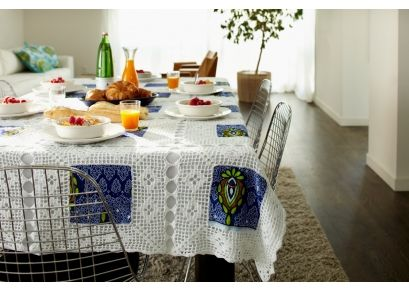 Designed By: ROSE PHIRI  Country of Origin: Zambia  $99 for large Table cloth, other items available by artist through Bootstrap Project