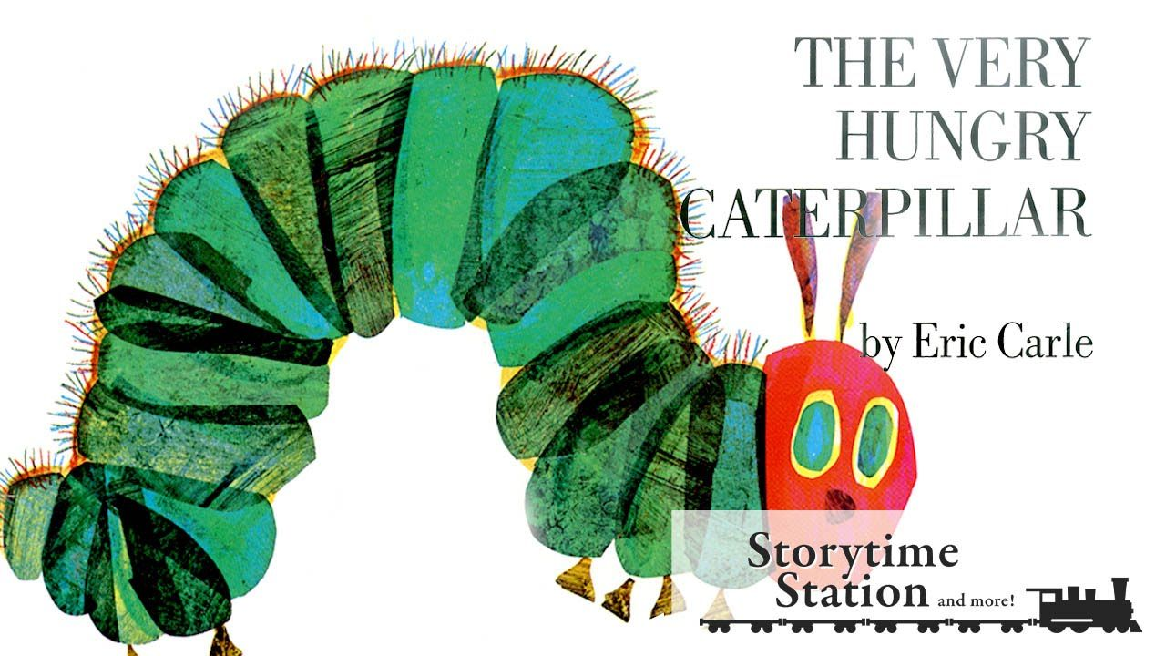 the very hungry caterpillar by eric carle books for kids read