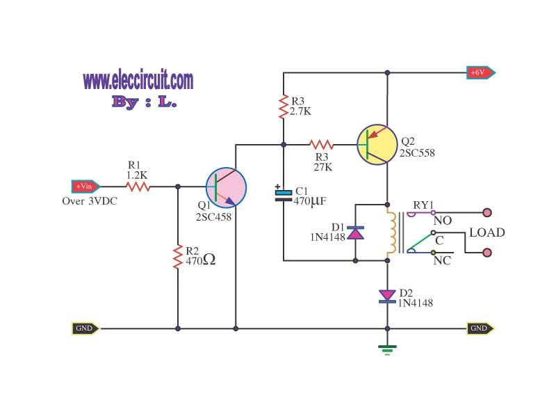 how to boost up voltage for low voltage relay electronic