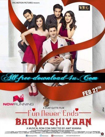 Poster Of Hindi Movie Badmashiyaan (2015) Free Download Full New Hindi Movie  Watch Online