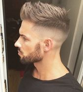 Haarschnitt  Kurze UndercutFrisur mit Fade