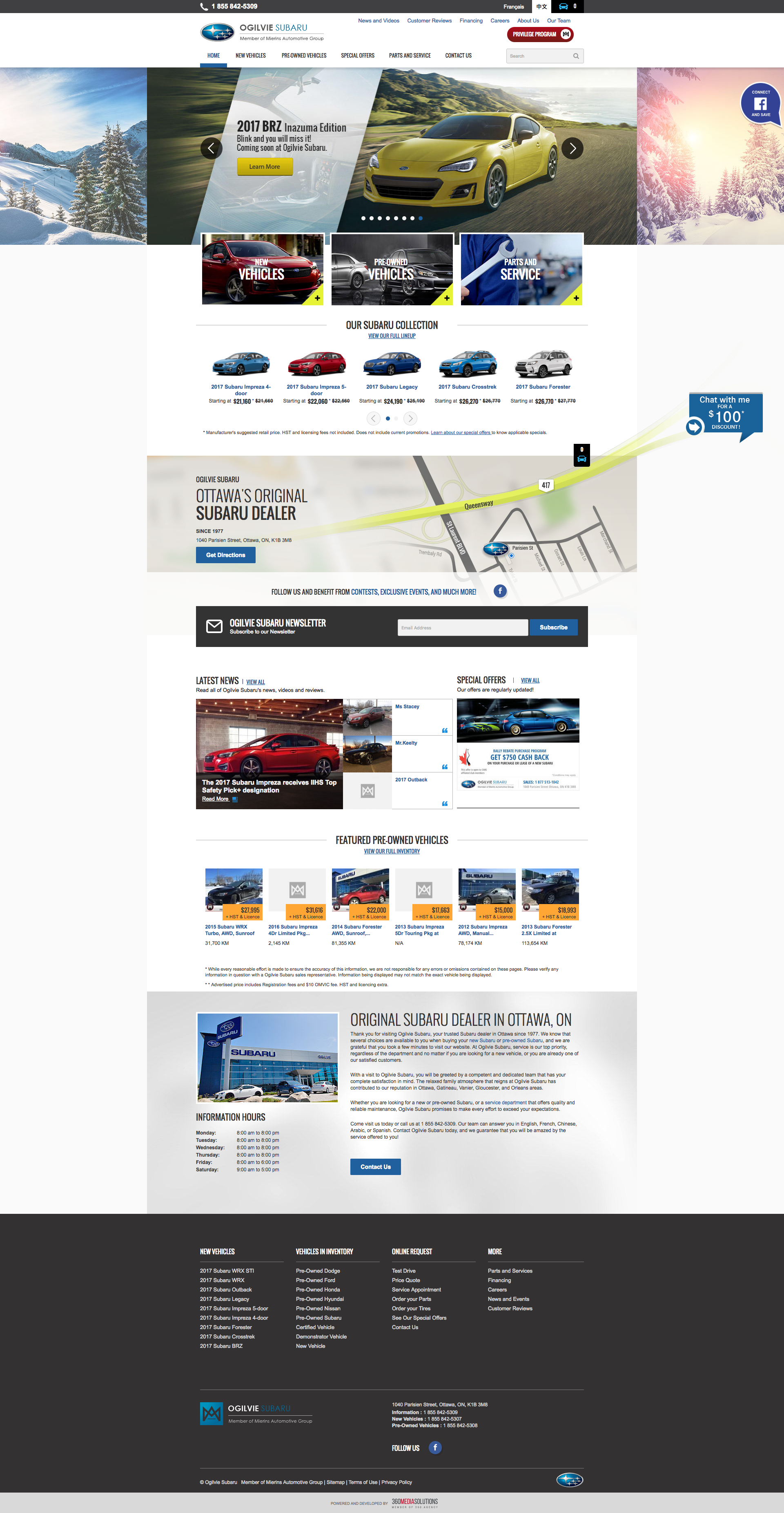 Best Web Design For Car Dealers Get Inspired Today Webdesign Design Graphicdesign Car Websites Agency 360agency Small Luxury Cars Used Subaru Subaru