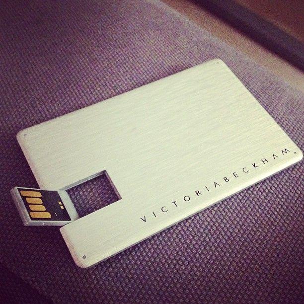 Victoria Beckham S Business Card