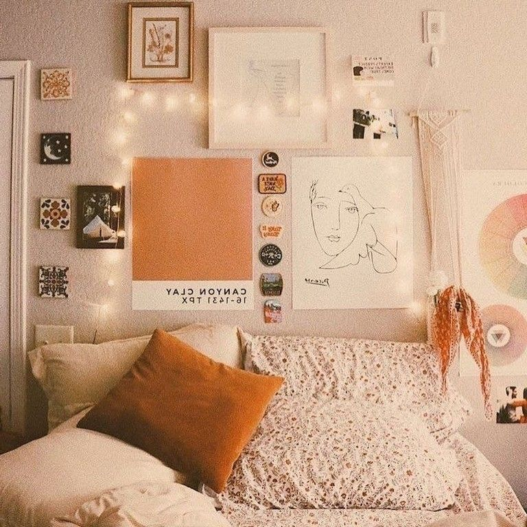 46 Sweety Dorm Room Decorating Ideas On A Budget Rustic Dorm Room Dorm Room Decor Dorm Room Inspiration