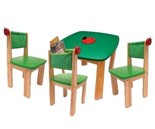 Kindertisch aus Holz Test Tipps für schadstofffreie Kindermöbel
