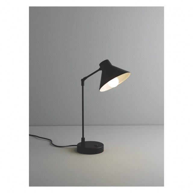 Bobby Black Metal Desk Lamp Now At Habitat Uk