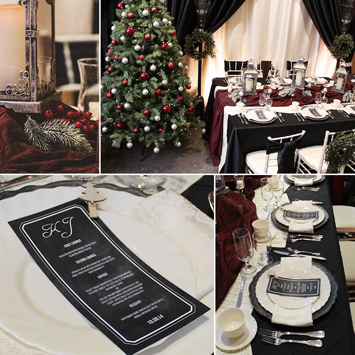 Holiday Decor from Special Event Rentals
