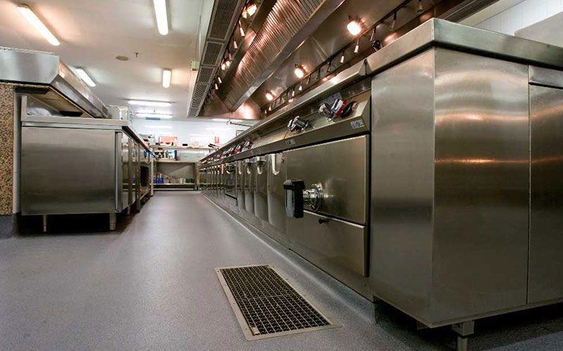Suelos de caucho para cocinas industriales http floter for Cocinas hosteleria