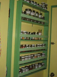Braver Homes and Gardens: Self Built Spice Rack