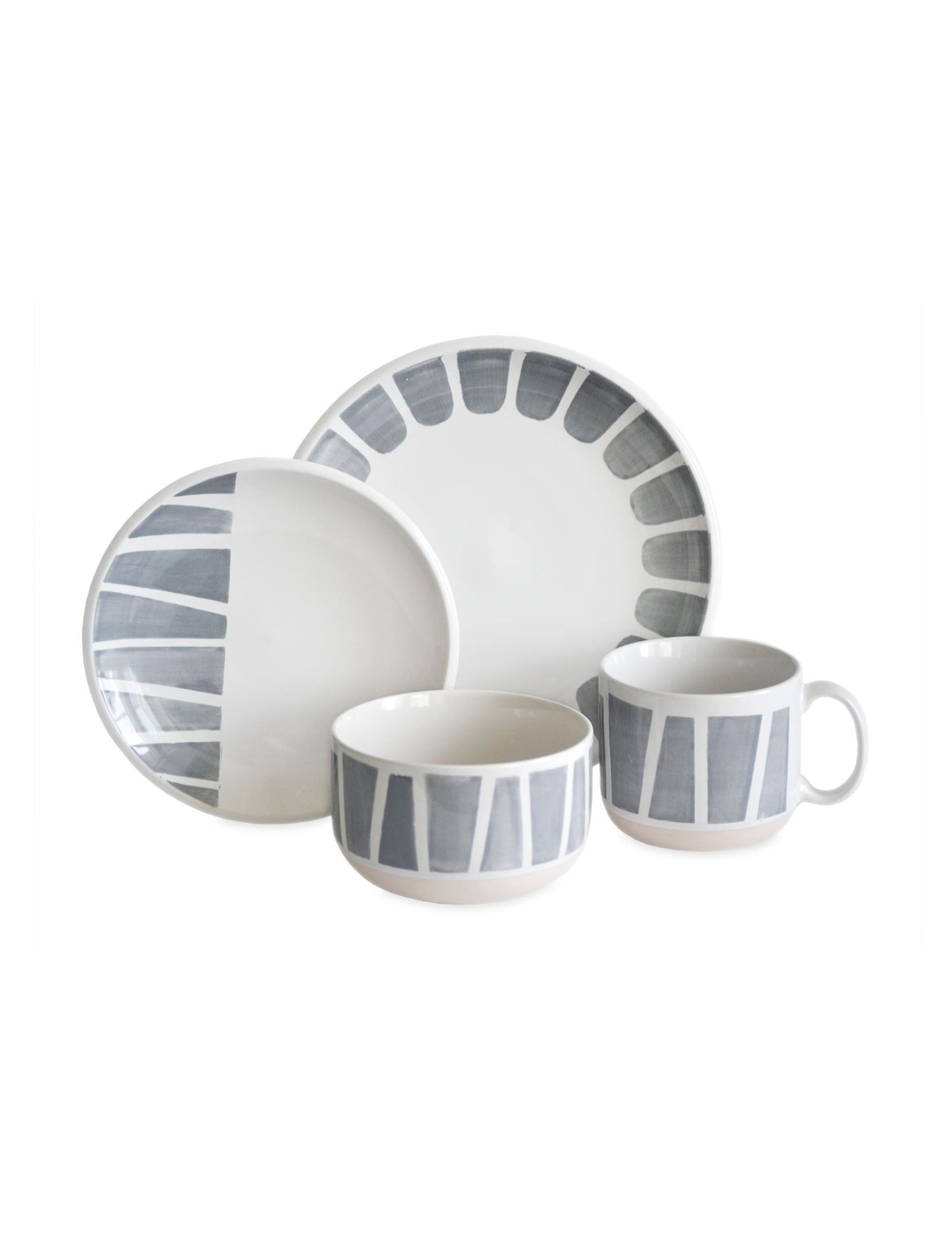 Shop today for Baum Bros Imports 16-pc. Staxx Dinnerware Set & deals ...