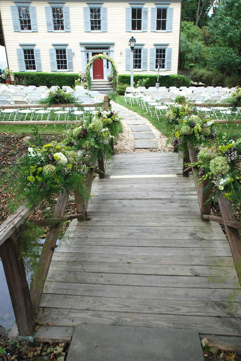 The Inn at Millrace Pond Pond wedding, Wedding catering