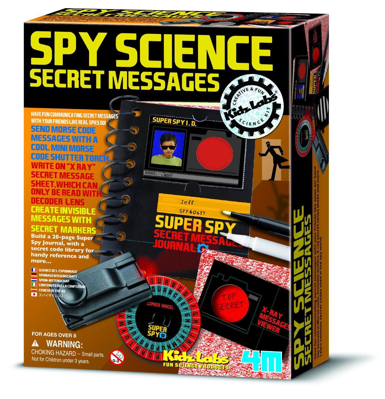 4m Project Kits Spy Science Secret Messages Includes