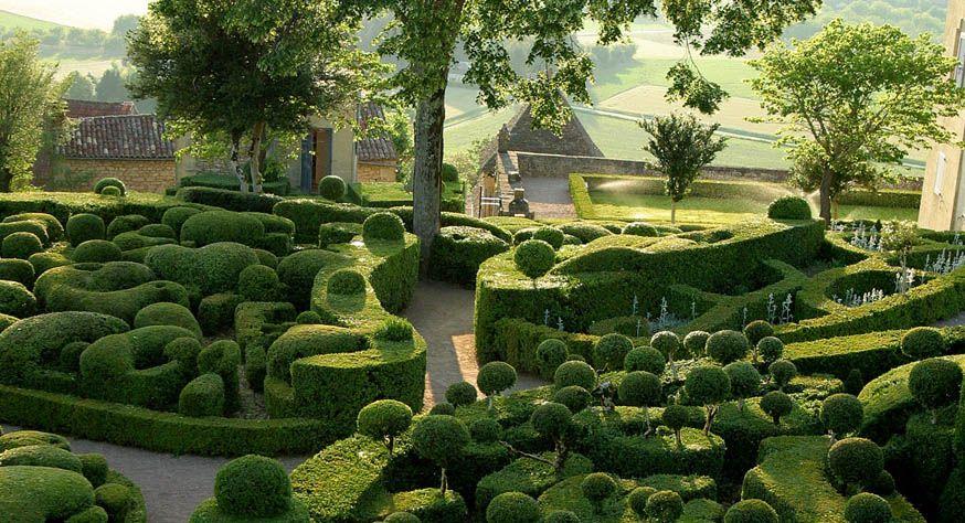 Gardens at Château de Marqueyssac