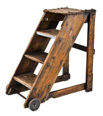 Image Result For Wooden Step Ladder Wood Step Stool Wood Steps Step Stool
