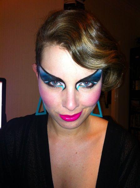 80s blues | Makeup Inspirations | 80s makeup, Makeup, Lip Makeup
