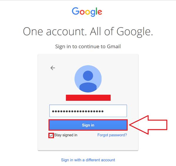 Gmail Account Login Step Gmail Sign Gmail Accounting