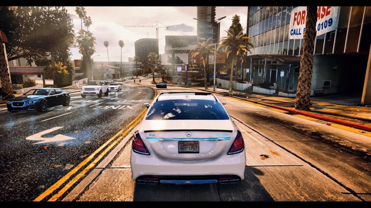 GTA 6 Graphics REDUX Cars Gameplay! Ultra Realistic