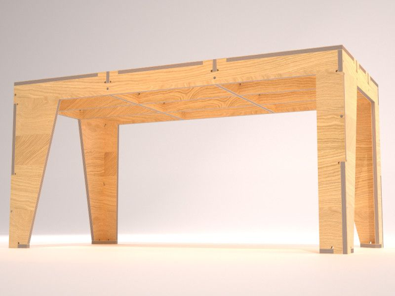 AtFAB - One to Several Table & AtFAB - One to Several Table | ADB | Pinterest | Joinery Plywood ...