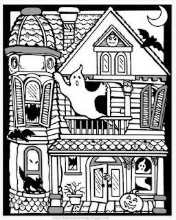 Free Halloween Coloring Pages HALLOWEEN Pinterest Halloween