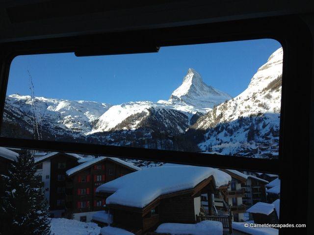 Skier A Zermatt Au Pied Du Cervin Blog Voyage Cervin Voyage Suisse Vacances En Suisse