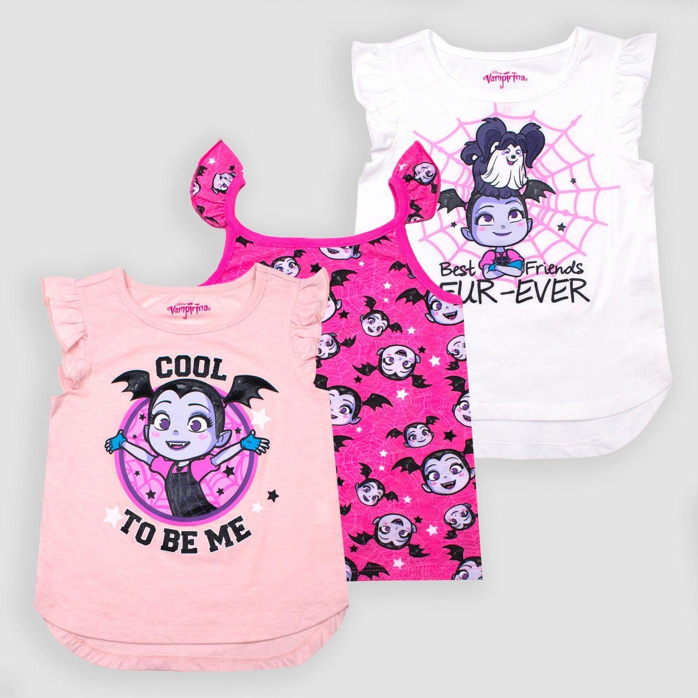 Disney Vampirina PJ PALS for Girls Multi