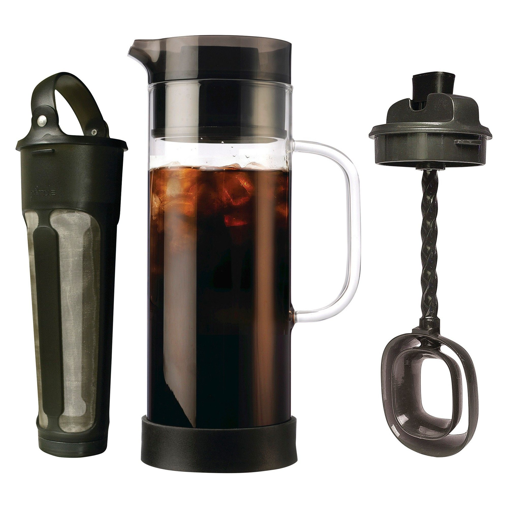 Primula Cold Brew Carafe System, Clear Making cold brew