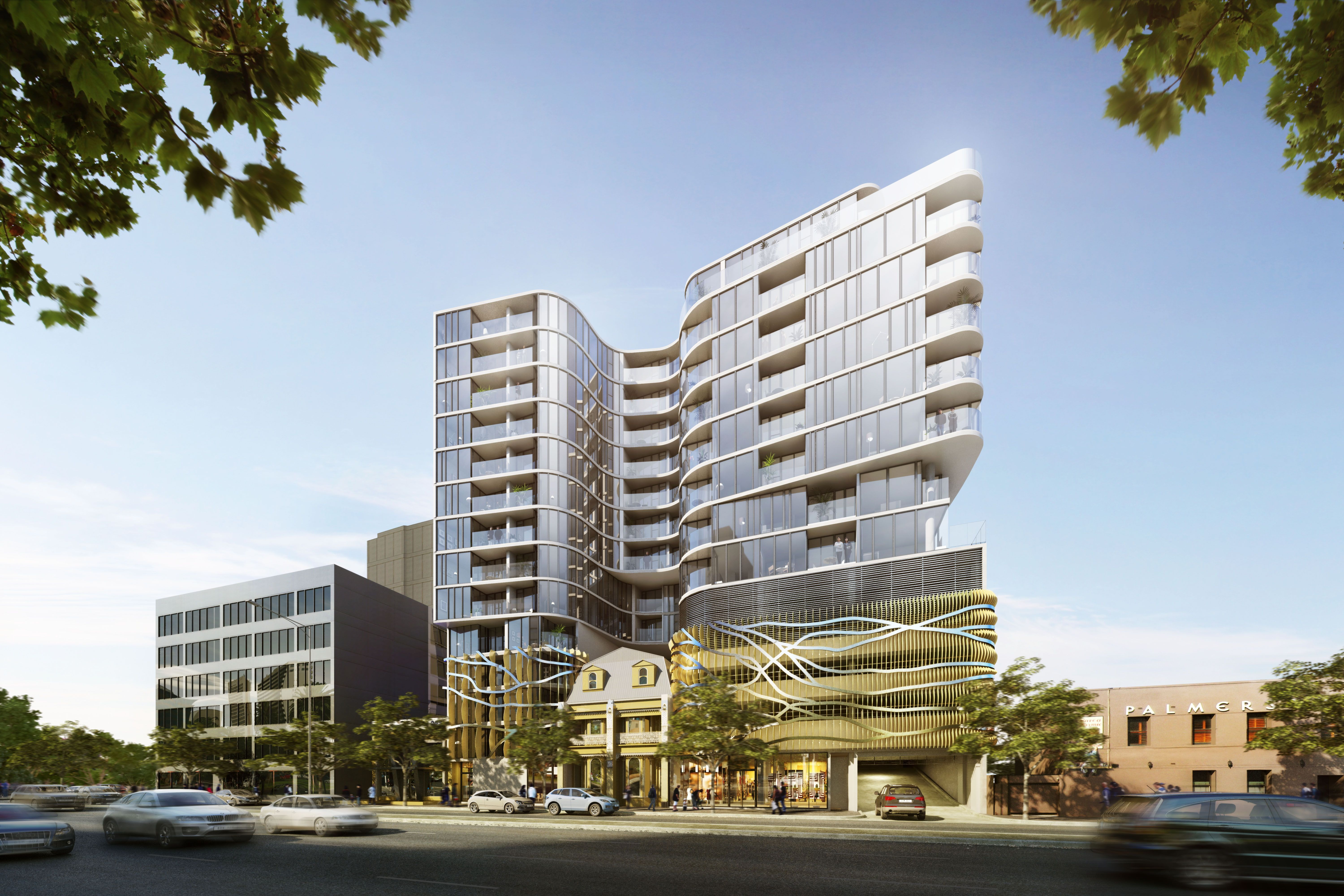 Silverleaf Melbourne By Buchan Group Visualisation Scharp Visualization Apartments