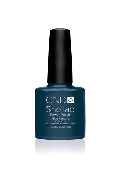 CND Shellac in Blue Rapture => Blu intenso e coprente.  www.cndshellac.it