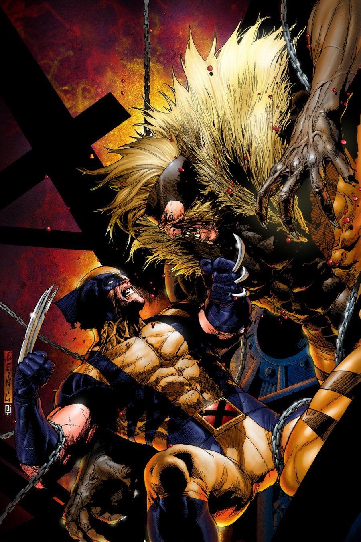 94344d54507 Wolverine vs Sabretooth Comic | wolverine vs sabretooth by ...
