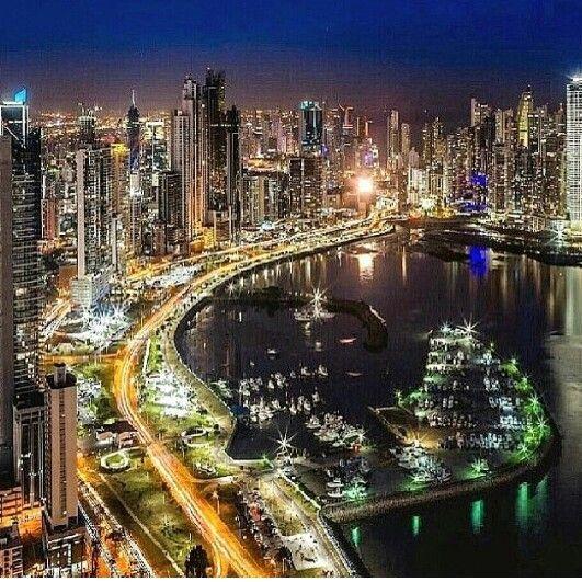 Panamá De Noche Revistakidspty Panama City Panama Panama City