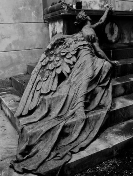so close yet so far away Striking statues Pinterest Angel - halloween statues