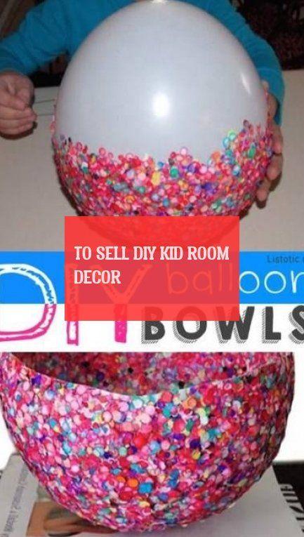 To Sell diy kid room decor