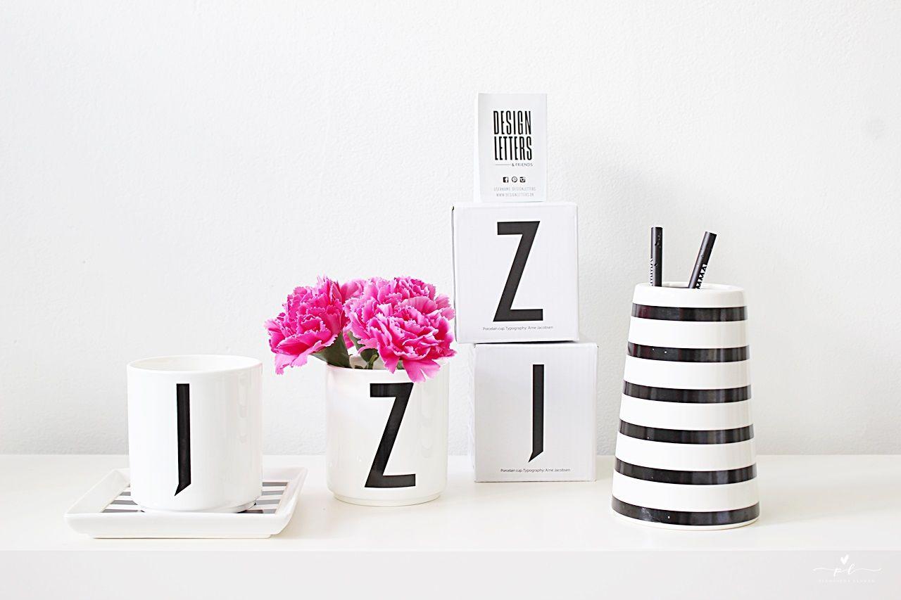 Elämäni Aakkoset Design letters black and white stripes house doctor