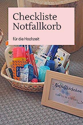 Photo of Notfallkörbchen für die Hochzeit – was muss rein? – DIY Hochzeit