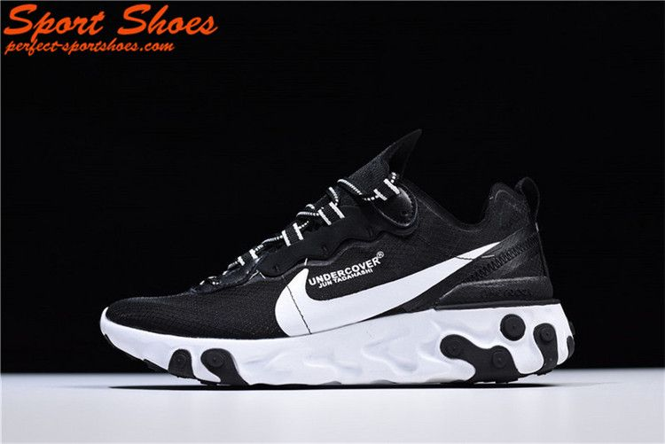 a689609d0976 UNDERCOVER x Nike Upcoming React Element 87 Lady Running Shoes AQ1813-337  For Sale Black
