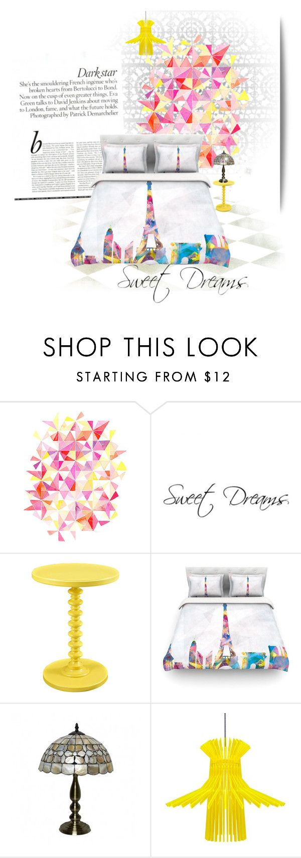 """""""Sleep tight..."""" by lindagama on Polyvore featuring interior, interiors, interior design, home, home decor, interior decorating and Sarah Angold"""