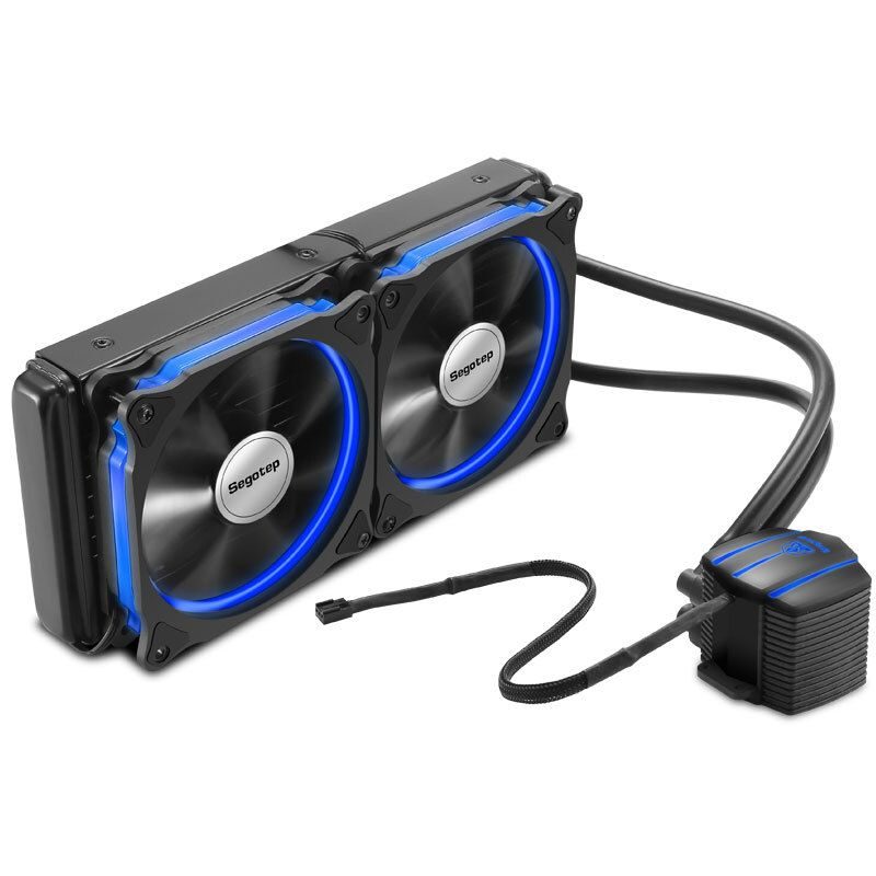 Segotep Integrated 240 Cpu Water Cooling Cooler With Double 120mm