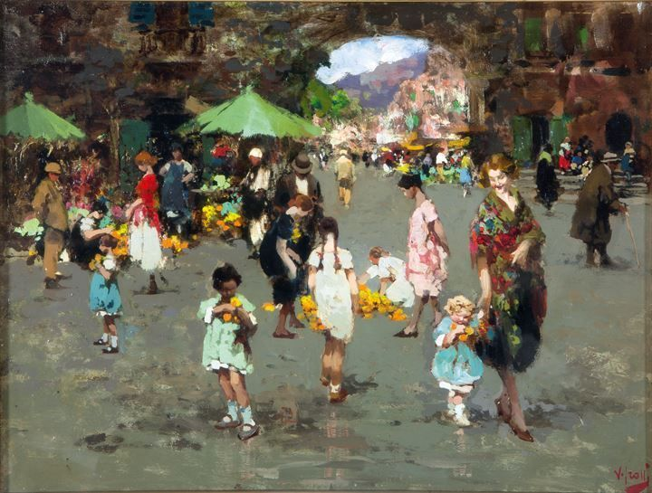 Mercato dei fiori a Porta Capuana, Napoli