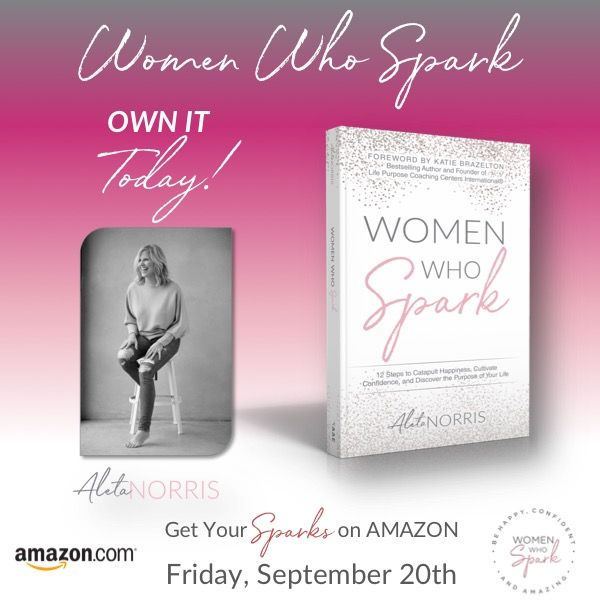 Women Who Spark Is Here!!! So excited to get this at last!