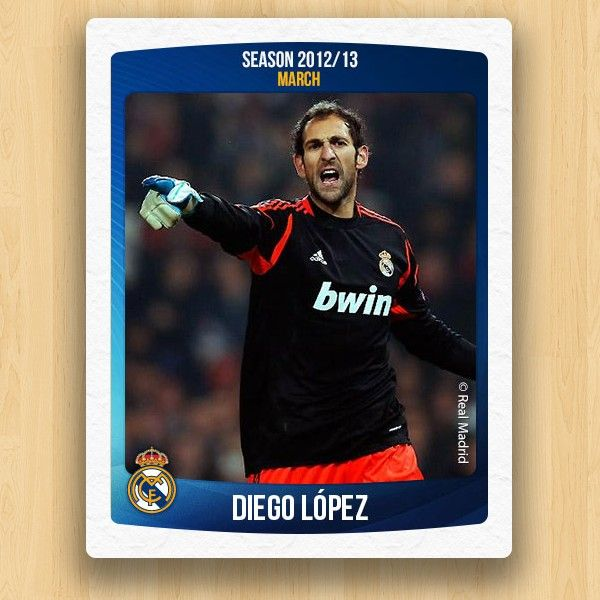 Real Madrid Collections - Diego López