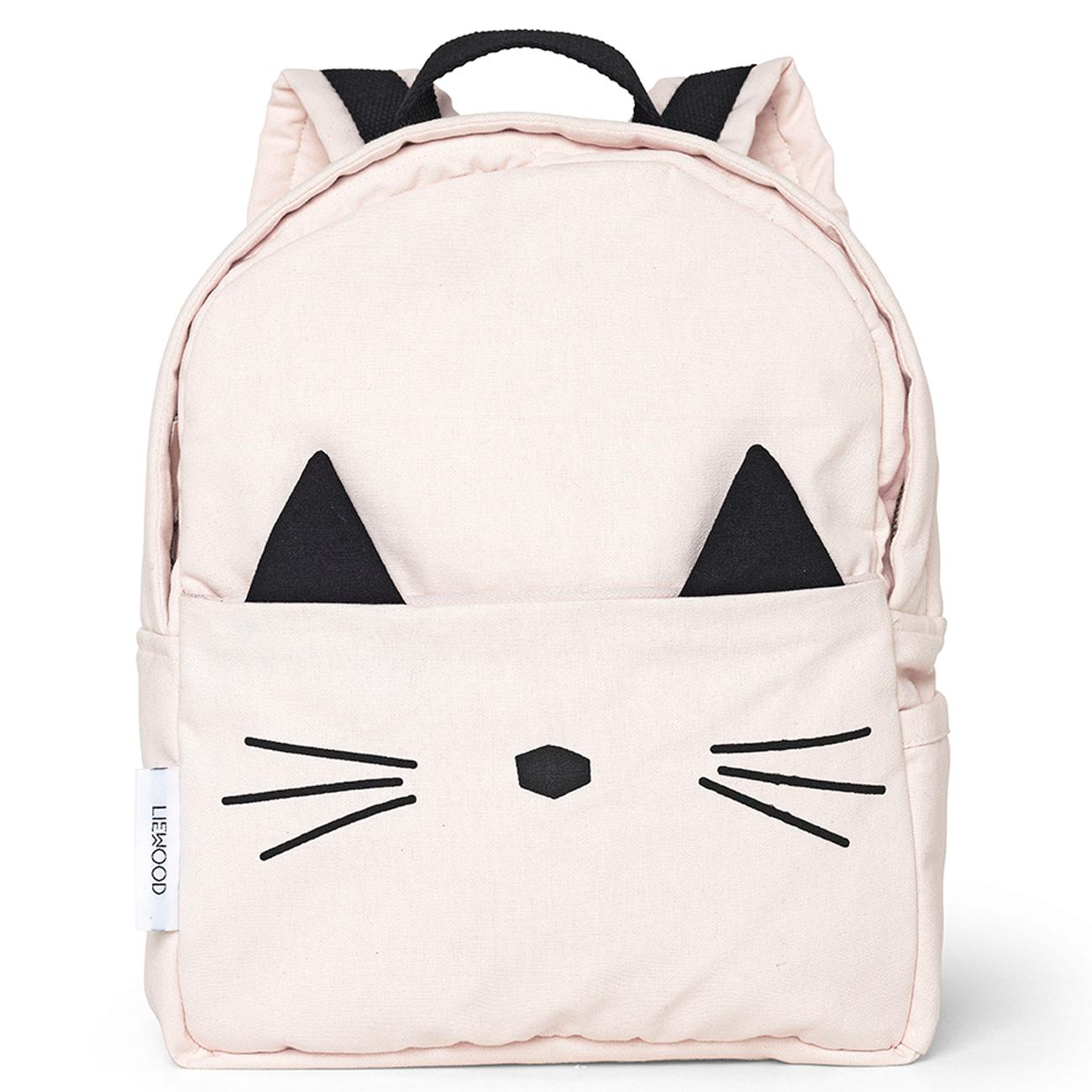 Liewood Emma Back Pack Cat (sweet rose) - Køb online her!