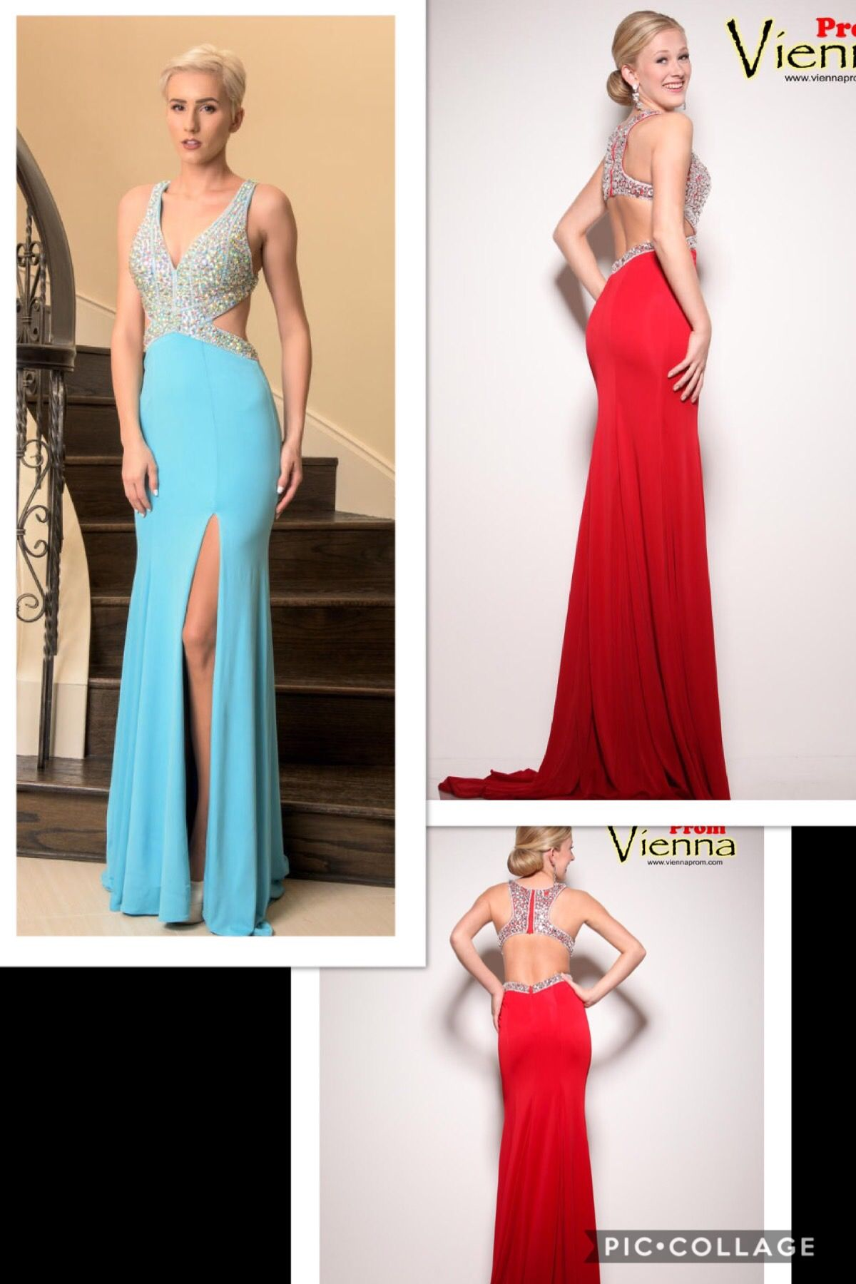 This vienna prom gown is totally stunning with the jewels u cutouts