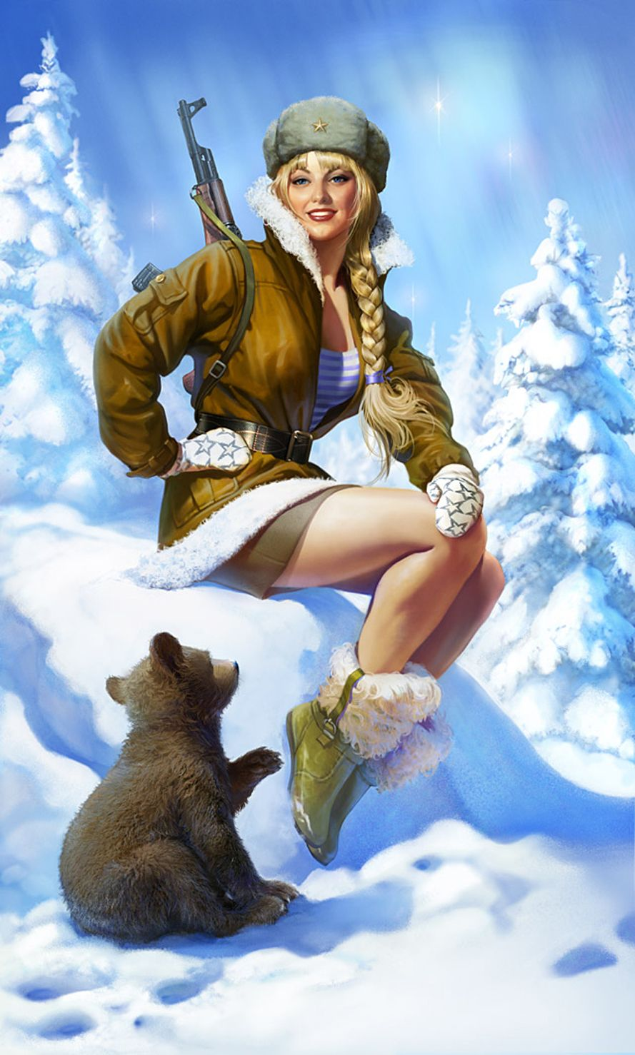 Pin-up in Russia 3