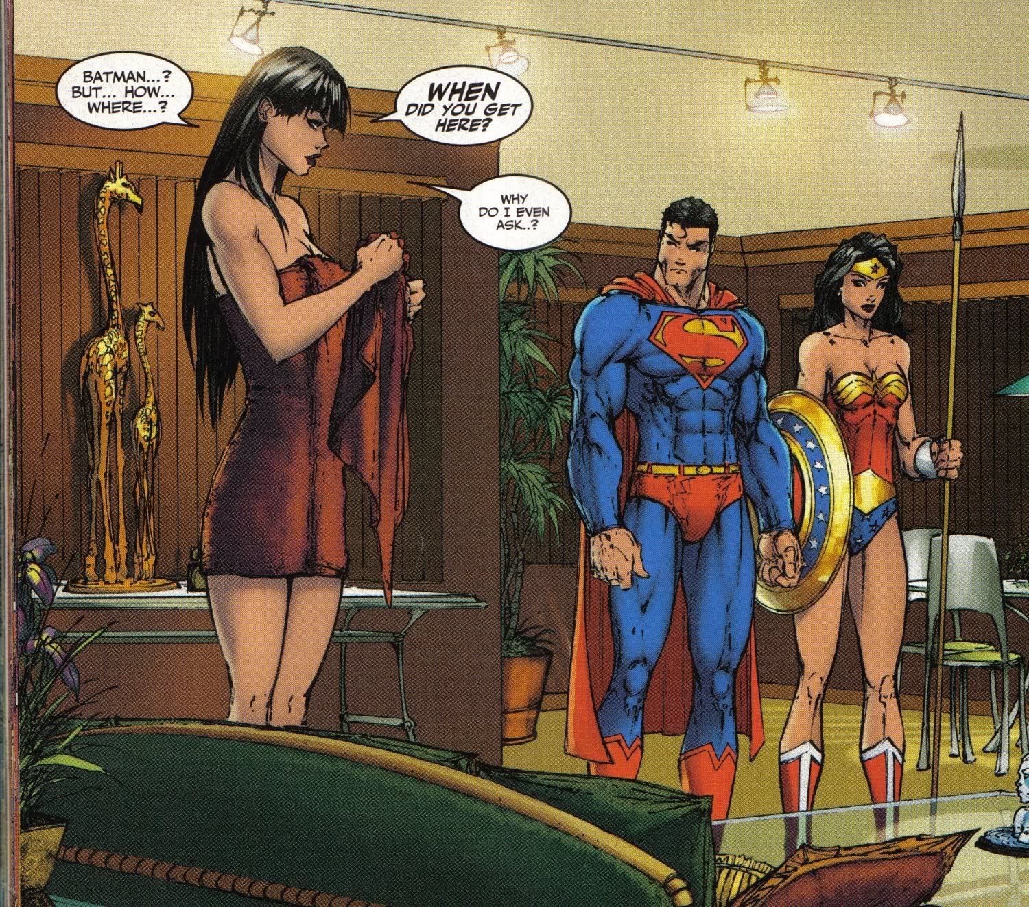 Big Barda Worth Reminded Lot Taller Superman And Woman. Dc