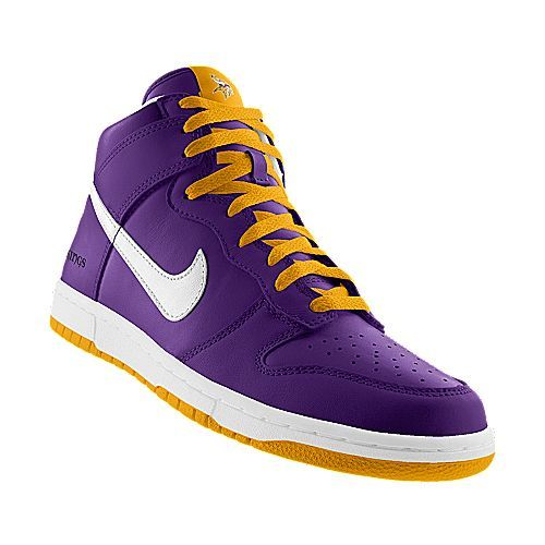 check out 048b1 9234d I designed this at NIKEiD - Minnesota Vikings shoes | Stuff