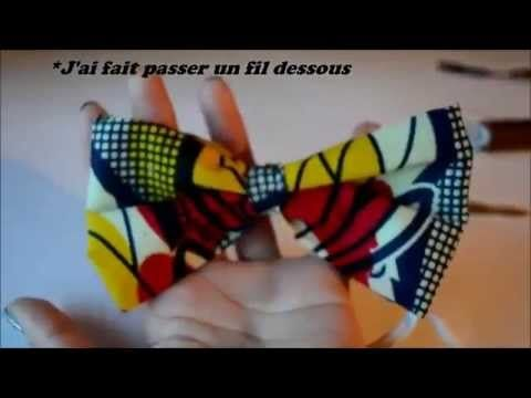 comment faire un n ud papillon diy mode et bijoux. Black Bedroom Furniture Sets. Home Design Ideas