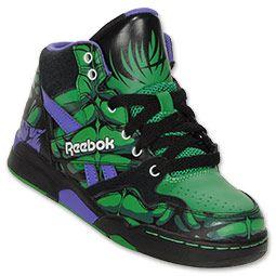 new styles 6ace5 c92b5 Reebok Hulk Preschool High Top Shoes  FinishLine  HotTotKicks
