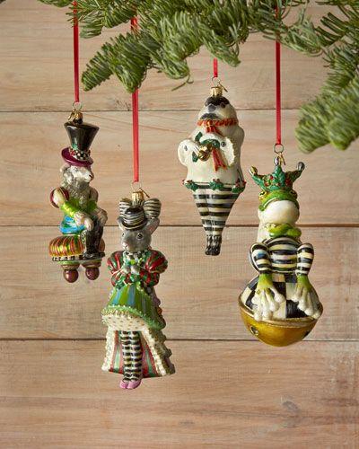 MacKenzie-Childs Chicken Palace Ball Christmas Ornaments | Dream ...