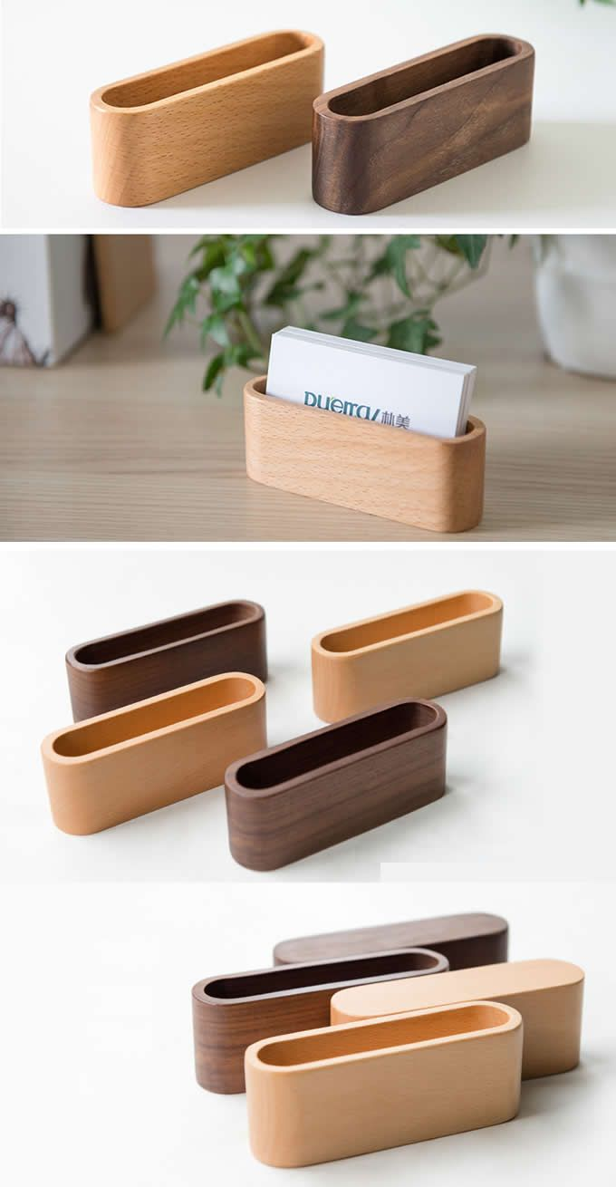 Wooden wood oval shaped business card holder for desk office gifts wooden wood oval shaped business card holder for desk colourmoves