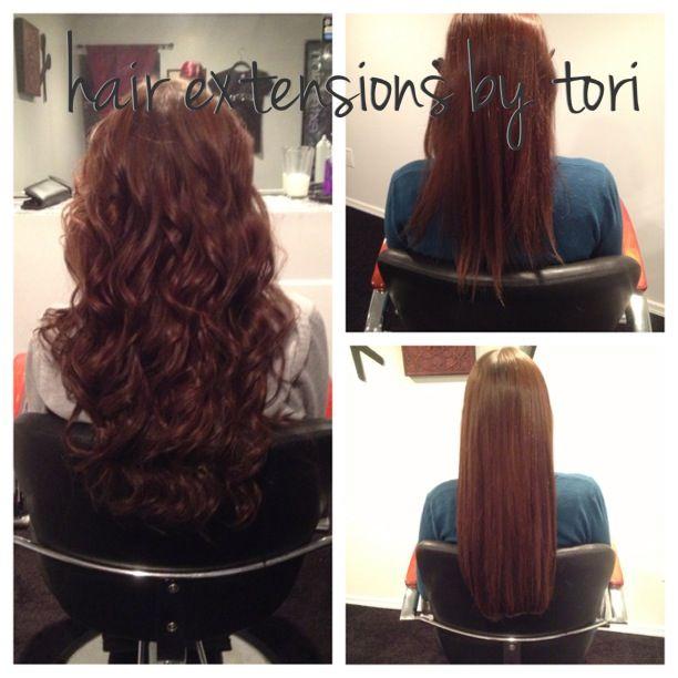 Hair Extensions By Tori Caputo Full Head Of Socap Hair Extensions